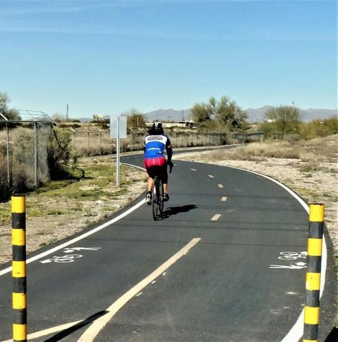 Bike Path South Tucson beverly