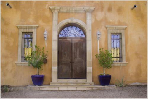 Doorway barb