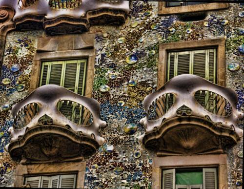 Gaudi windows andrea