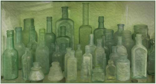 Green Bottles barb