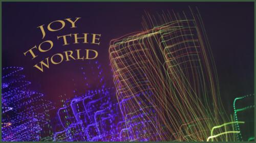 Joy to the world barb