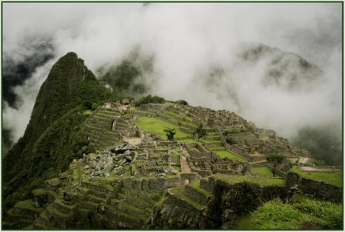 Machu Picchu-Green
