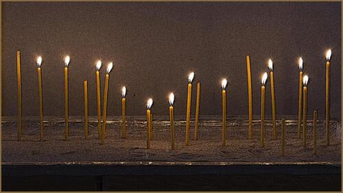 Monastery Candles-Wilder