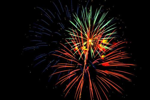Multi Fireworks tom