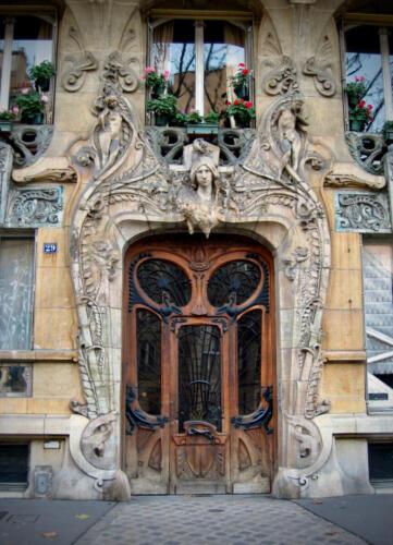 Paris Door 2003 sandy