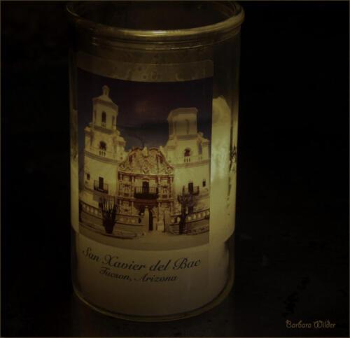 San Xavier Candle-Wilder