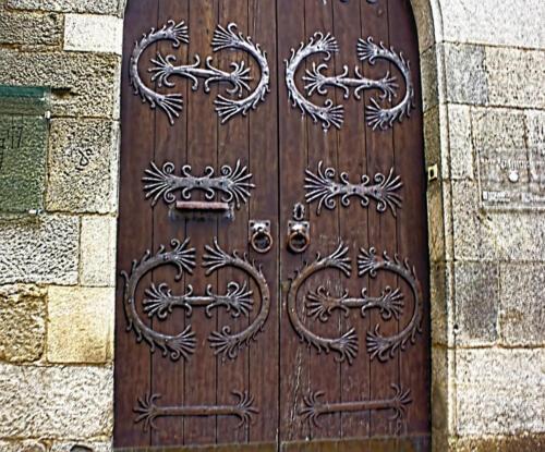 Santiago de Compostela door