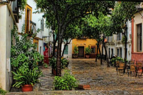 Spanish street andrea
