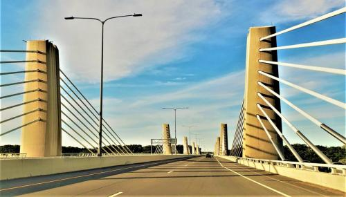 St. Croix Crossing Bridge beverly