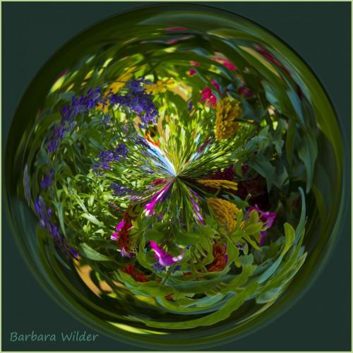 Wilder-Garden Flowers Orb