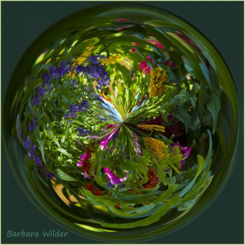 Wilder-Garden Flowers Orb