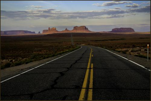 Wilder-Monument Valley ahead