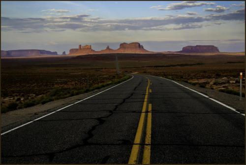 Wilder-Monument Valley ahead
