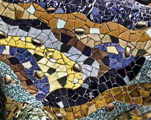 abstract Gaudi lizard andrea