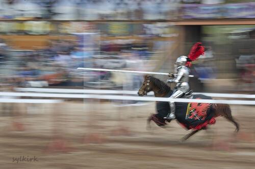 jousting knightSS sylvia
