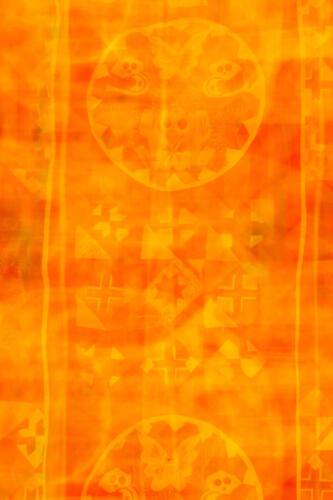 orange abstract andrea