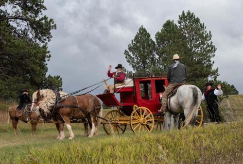 M. Guinn Stagecoach robbery