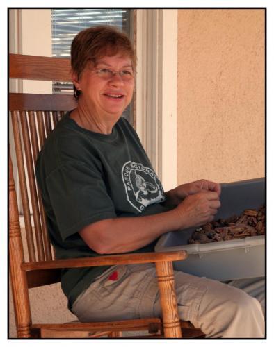 Barbara Shelling Pecans