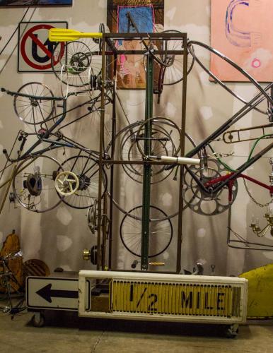 Wilder Wheel sculpture