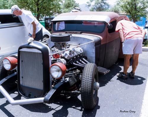 Gray 3  Car Show