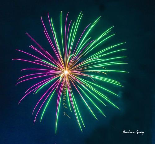 Gray Fireworks C