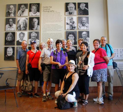 Group at Photo Museum
