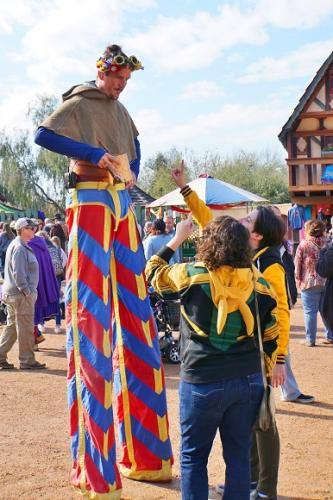 Henley  Stilt Walker