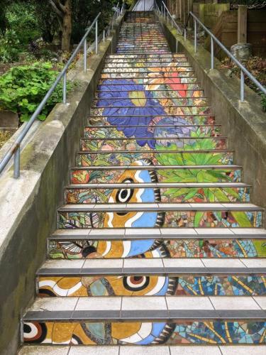 T. Stafford San Fran Stairs