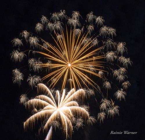 Warner 3 fireworks