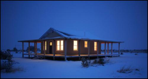 Winter Cabin.Roddy